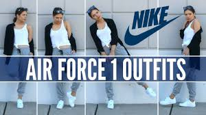 nike air force 1 how to style sneakers youtube air force 1 style