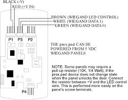 prox pad pin connector diagram IEI Keypad Programming at Iei Prox Pad Wiring Diagram