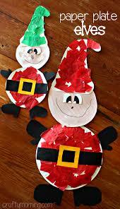 Kidu0027s Christmas Crafts  Paper Plate Snowman  SheSavedChristmas Crafts Using Paper Plates