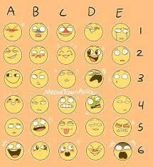Emoji Emotions Chart Meme Dump Overwatch Amino