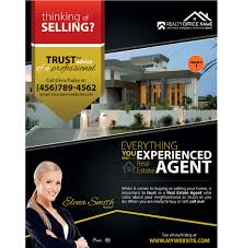 flyer companies real estate flyer printing real estate agent flyer printing