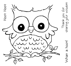 Best Cute Owl Coloring Page 90 In Free Colouring Pages with Cute ...