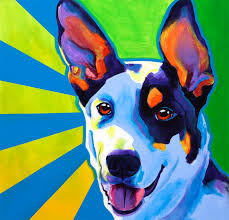 awesome pet portrait painting