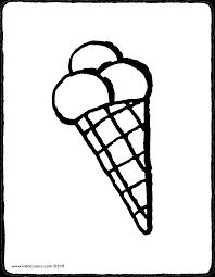 Voici un article qui donne faim ^^ vous trouverez ici des coloriages de glaces ! Ice Cream Cone Kiddicolour