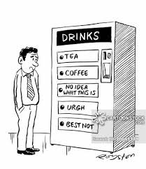 Vending Machine Cartoon Simple Drinks Machine Cartoons And Comics Funny Pictures From CartoonStock