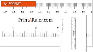 Download Printable And Foldable Rulers Printaruler Com