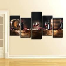 wine barrel wall art wine barrels multi panel canvas wall art wine barrel head wall art