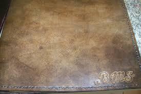 custom made custom leather portfolio legal size with personalization