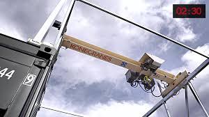 wire rope hoist cranes video