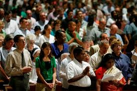 Image result for pictures of people being saved in church