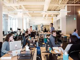 25 promising tech companies to work for if you re just graduating slack employees office
