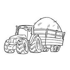 45 Beste Afbeeldingen Van Kleurplaten Tractor Tractor Coloring