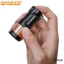 Manker E14 III 4000 Lumens LED Samsung EDC Cắm Trại Đèn Pin Cao Cấp Túi Đèn  Pin Đèn Sạc USB 18350 Pin|LED Flashlights
