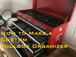 how to make a custom toolbox organizer