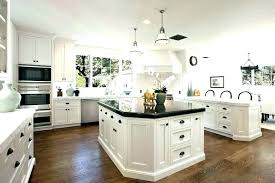 cabinet cup pulls black kitchen country french style featuring white cabinets pull hardware door image of