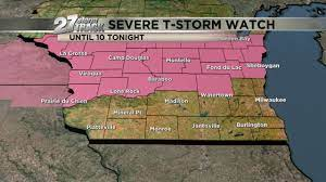 Severe Thunderstorm Watched issued for ...