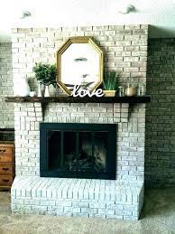 update stone fireplace updated brick fireplace how to update a stone fireplace how to update a