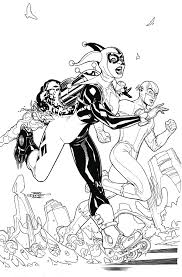 fresh squad coloring pages may160307 harley quinn an book tp