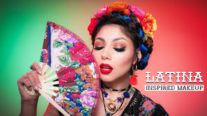 latina inspired makeup