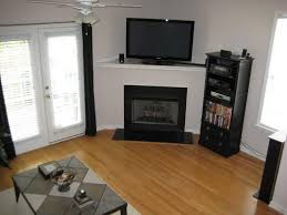 how to decorate a corner fireplace entertainment center corner fireplace entertainment center for small living
