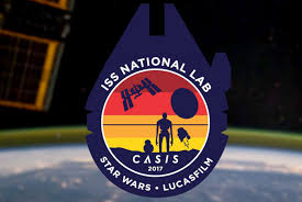 Nasa Mission Patch Design Nasa Channels Stars Wars For Its 2017 Iss Mission Patch