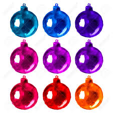 Hand Decorated Christmas Balls Watercolor Hand Painted Christmas Balls Design Elements Artistic 65