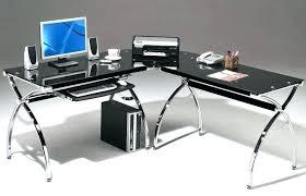 contemporary glass office desk. Modern Glass Office Desk Contemporary Home T