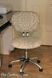 office hack. Office Chair Hack Tutorial With Simple Upholstery Make The Workspace More Comfortable And Stylish By Our