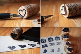 easy wine cork crafts for kids to make wine cork diy stamps diy projects
