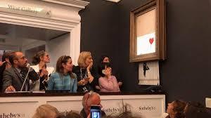 Banksy's 'self-destruct' art stunt: Who was in on it? - CNN Style