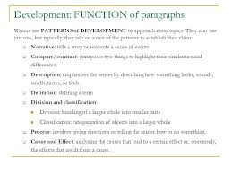 everything s an argument ppt 6 development function of paragraphs