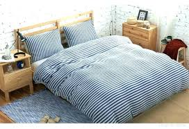 navy blue stripe duvet cover striped quilt set you