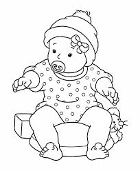 Small Picture Newborn Baby Coloring Pages Free Coloring Pages