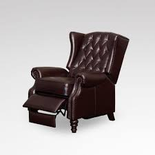 Leather Wingback Chair For Sale Furniture Amazing Queen Anne Recliner With Perfect Distorsi