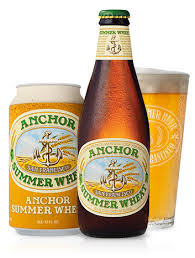 anchor summer beer top american wheat beer from san francisco
