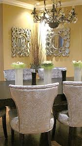 velvet dining room chairs. Dining Room: 30th Ave., Morgan Acres, Surrey BC Feature Silver Crushed Velvet Chairs, Large Bubble-style Mirrors. Room Chairs L