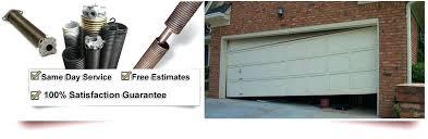 replacing garage door spring garage door spring repair replacing garage door torsion spring cables