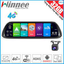 Review camera hành trình winnee z58 -phát 4g-thẻ nhớ 32gb-giám sát hành  trình - hàng chính hãng
