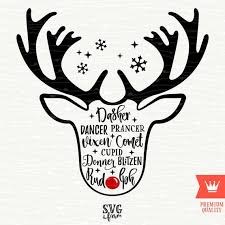 Reindeer List Names Santa