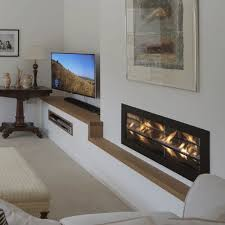 gas fireplace contemporary open hearth 2 sided