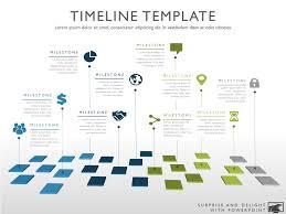 Timeline Template Ten Phase Creative Timeline Slide
