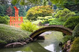Japanese Photograph - Japanese Garden - Footbridge Over The Pond - Gary  Heller by Gary Heller