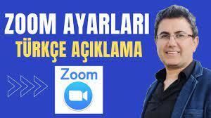 Zoom Ayarları Türkçe Açıklama (Zoom Videoları) - YouTube
