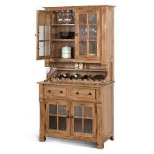 Sunny Designs Rustic Oak Sunny Designs Sedona Rustic Oak Hutch And Buffet The
