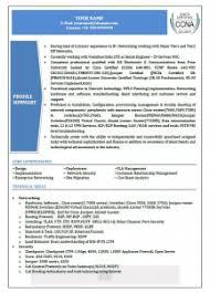 Best Resume Samples For Network Engineer