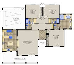 California Spanish   Featured Projects  Residential Projects    Guest House Floor Plan KVH Design
