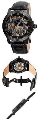 17 best images about stuhrling watches skeleton stuhrling men s 228 33551 symphony saturnalia bru a skeleton watch