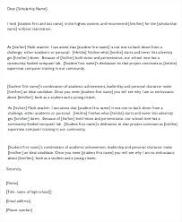 Sample College Reference Letters Sample College Recommendation Letter From Professor For Student