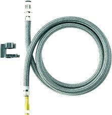 kitchen sprayer hose quick connect leaking sink faucet spray repair delta fauc