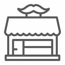 <b>Barber</b>, <b>barbershop</b>, <b>haircut</b>, <b>hairdressing</b>, <b>mustache</b>, shop icon